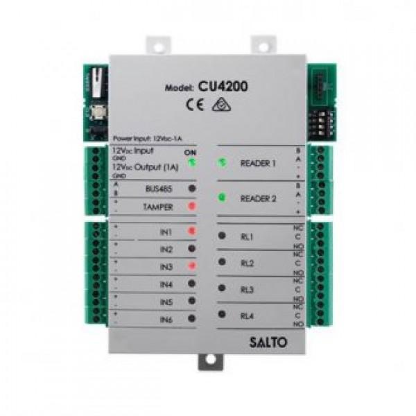 SALTO разширителен модул за 2 допълнителни врати или 2 четеца