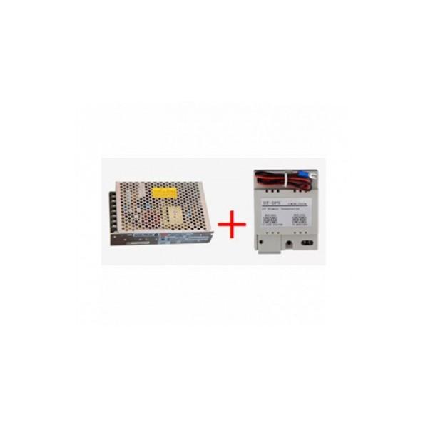 Комплект разделител на двупроводната комуникационната линия, пластмасов корпус с възможност за монтаж на DIN шина  V-Tek
