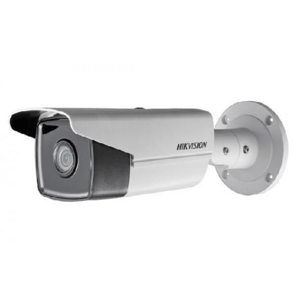 HIKVISION Мегапикселова корпусна IP камера Ден/Нощ, EXIR технология с обхват до 80м; 6.0 Мегапиксела