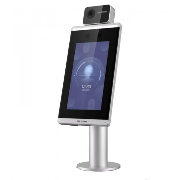 НОВО!!! Самостоятелен биометричен видео терминал за контрол на достъпа с лицево разпознаване и детекция на повишена телесна температура