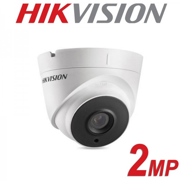 НОВО Hikvision HD-TVI /AHD/CVI/CVBS куполна камера (4 in 1); 2 Мегапиксела (FullHD 1080p@25 кад/сек)