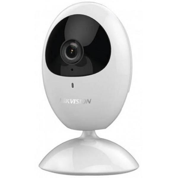 НОВО Hikvision Безжична (БЕБЕФОН) компактна IP камера Ден/Нощ; резолюция 1.0 Мегапиксела