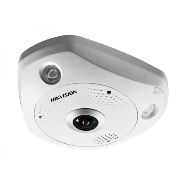 НОВО Hikvision Панорамна 360° 6 мегапикселова куполна IP камера; Deep Learning