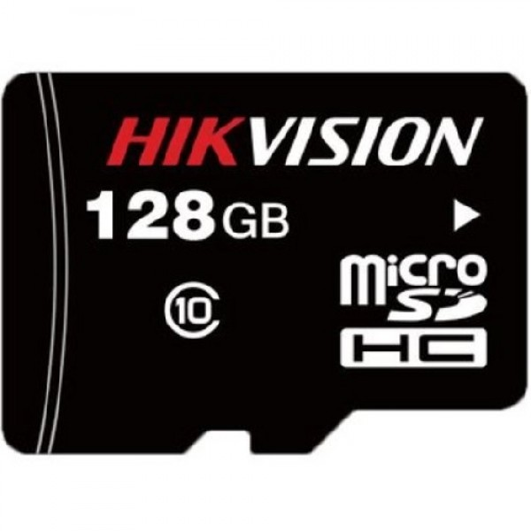 HIKVISION MicroSDXC карта; 128GB; скорост на четене: 95MB/s