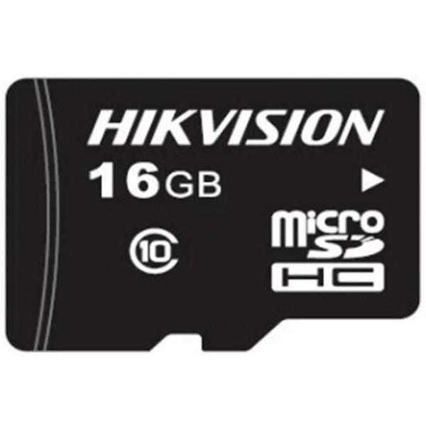 HIKVISION MicroSDHC карта; 16GB; скорост на четене: 95MB/s