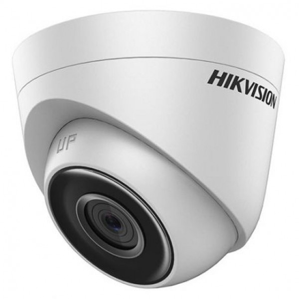 HIKVISION Мегапикселова куполна IP камера Ден/Нощ с вградено IR осветление с обхват до 30 м; 1.0 Мегапиксел