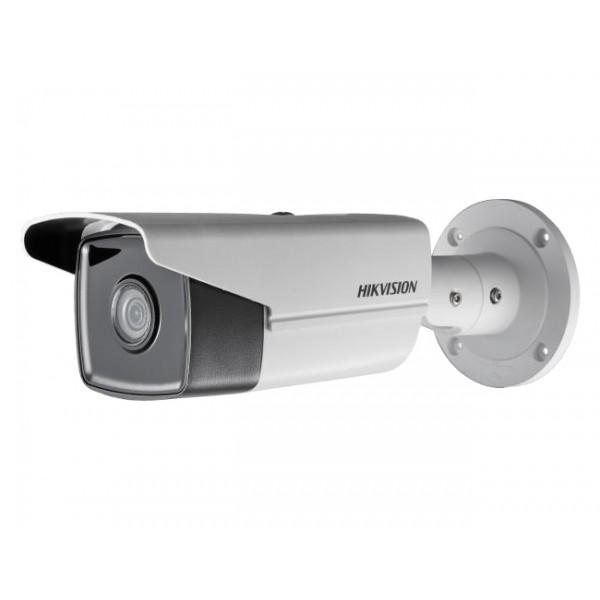 HIKVISION 4K UltraHD корпусна IP камера Ден/Нощ, EXIR технология с обхват до 50м; 8.0 Мегапиксела