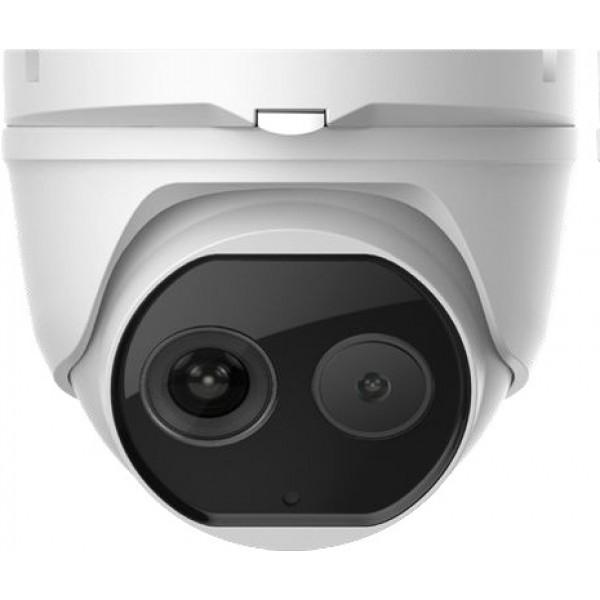 HIKVISION Комбинирана термовизионна/дневна IP камера с различни режими: комбиниран (bi-spectrum image fusion)