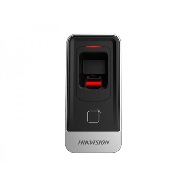 Hikvision Комбиниран Slave биометричен четец за пръстови отпечатъци и безконтактен четец за EM 125kHz карти