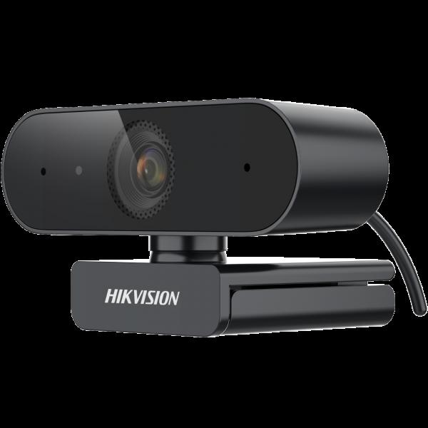 Hikvision DS-U12 Full HD 1080p уеб камера / Висококачествена 1920 x 1080 резолюция / Ясно и гладко видео / Широкоъгълен без изкривяване / Вграден микрофон с ясен звук