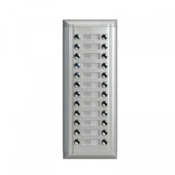 Допълнителен лицев панел с 24 бутона съвместим с DMR11S/ID/D8 V-Tek