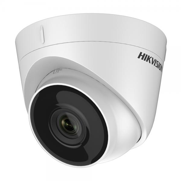 HIKVISION Мегапикселова куполна IP камера Ден/Нощ с вградено IR осветление с обхват до 30 м; 4.0 Мегапиксела