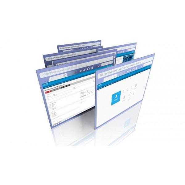 SALTO ProAccess SPACE Софтуер - Online Включва всички функционалности на Basic като вече може да управлява и безжична SALTO мрежа