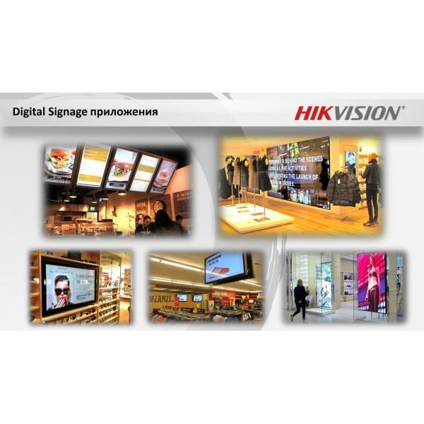 """Интерактивен дисплей """"HIKVISION"""" решения за търговски обекти '31.5"""" FullHD LED Digital Signage професионален монитор за 24/7 работа - ANDROID"""