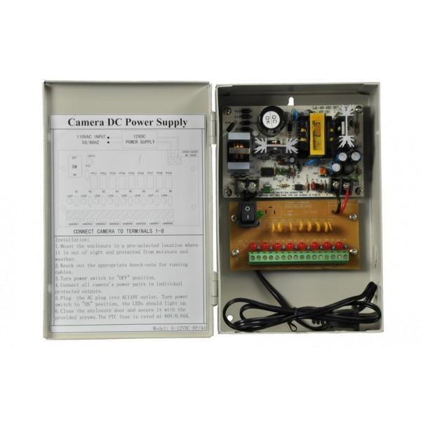 Захранващ блок с метална кутия - AC230V - DC12V 4 Amp /48 W