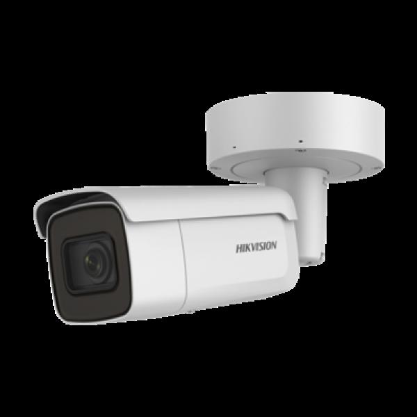 HIKVISION Мегапикселова корпусна IP камера Ден/Нощ, EXIR технология с обхват до 50м; 6.0 Мегапиксела