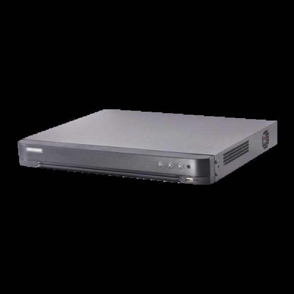 НОВО!!! HD-TVI ВИДЕОРЕКОРДЕРИ с DEEP LEARNING. 4-канален пентабриден HD-TVI/AHD/CVI/CVBS/IP цифров рекордер; поддържа 4 HD-TVI/AHD/CVI, аналогови или IP камери в произволна комбинация + 4 IP камери (до 8.0Mpx)