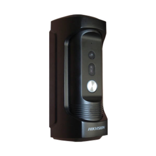 Вандалоустойчив еднопостов лицев панел. Вградена камера с HD резолюция  HIKVISION
