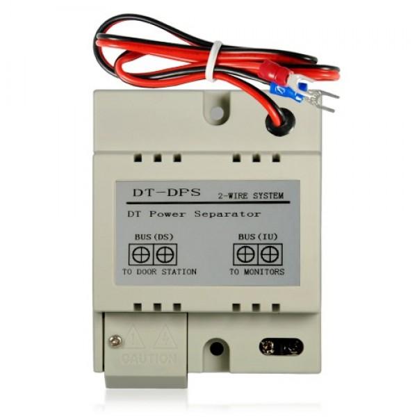 Разделител на двупроводната комуникационната линия, пластмасов корпус с възможност за монтаж на DIN шина V-Tek
