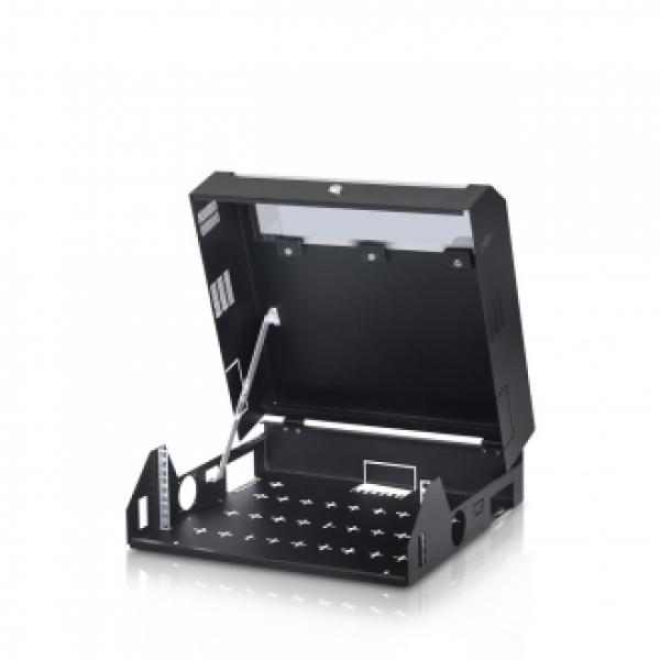 """19"""" SLIMRACK нископрофилен комуникационен шкаф 3U+2U 500/480мм за монтаж на стена/таван"""