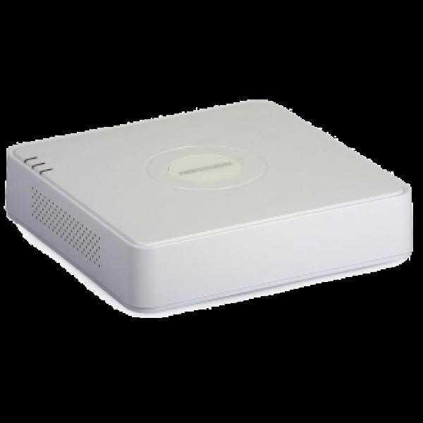 Hikvision 4-канален четирибриден HD-TVI/AHD/CVI цифров рекордер за видеонаблюдение