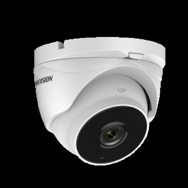 Hikvision Куполна HD-TVI Ultra-Low Light камера за видеонаблюдение с резолюция 2 MP NEW