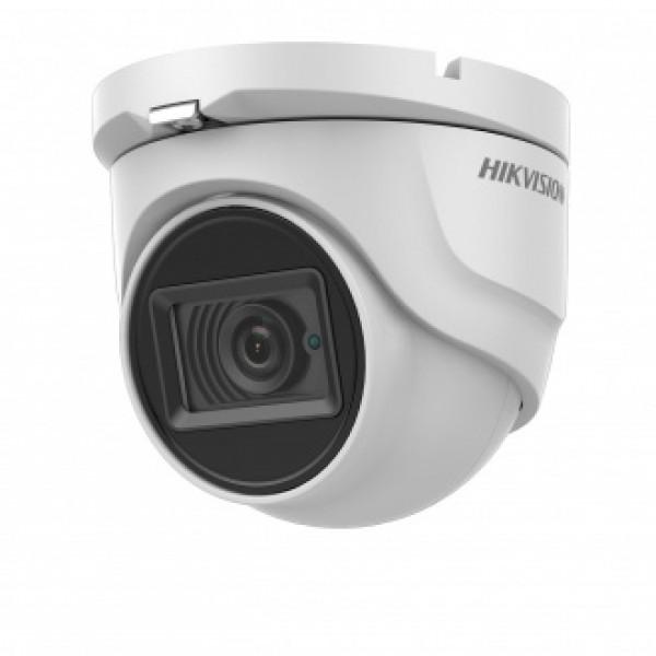 Hikvision 8 Мегапикселова HD-TVI куполна камера за видеонаблюдение NEW