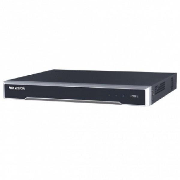Hikvision 8-канален мрежов рекордер/сървър с 8 вградени PoE порта (max 120W) NEW