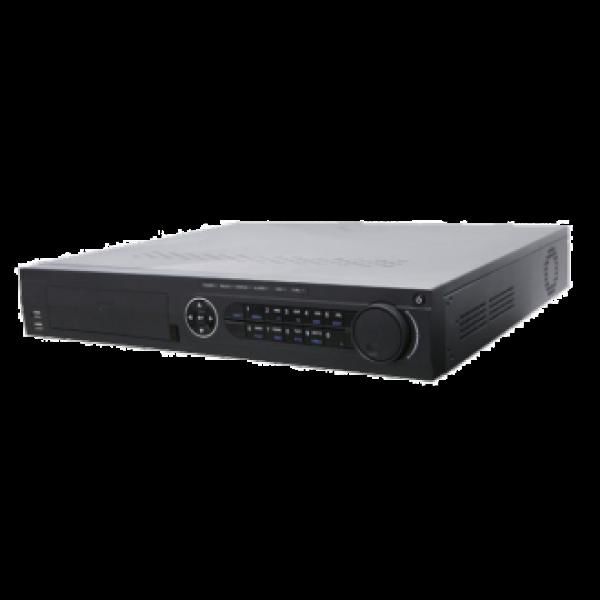Hikvision 32-канален мрежов рекордер/сървър с 16 вградени PoE порта