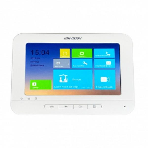 """Hikvision Мониторен панел със 7"""" Touch-Screen цветен дисплей, Wi-Fi"""
