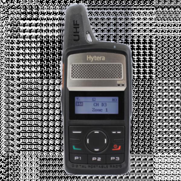 Цифрова портативна носима DMR радиостанция за свободно ползване