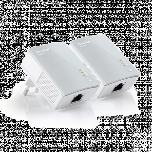 Комплект Powerline адаптери за пренос на мрежов сигнал през електрическа мрежа NEW