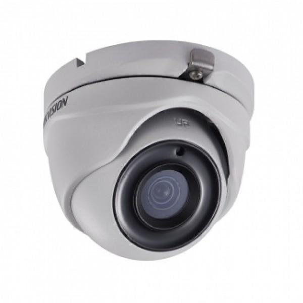 HIKVISION 2MPx куполна HD-TVI камера за видеонаблюдение със захранване по коаксиалeн кабел и IR осветление до 20m