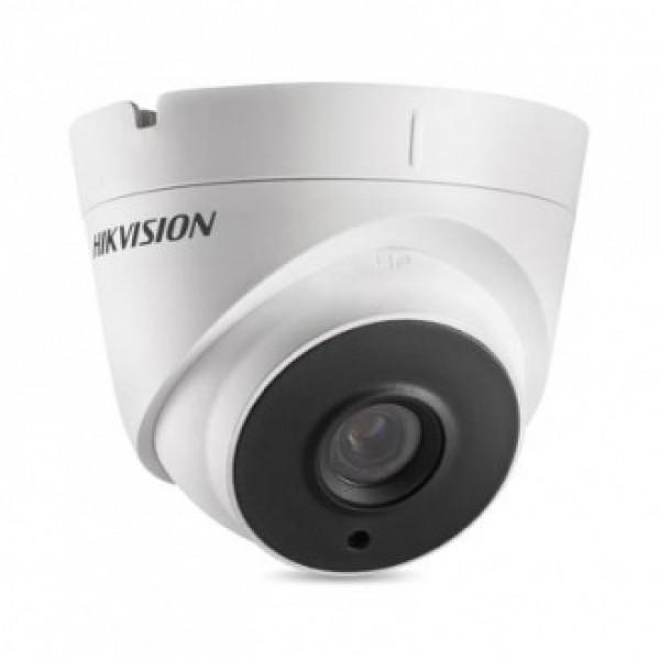 Hikvision 2MPx куполна HD-TVI камера за видеонаблюдение със захранване по коаксиалeн кабел и IR осветление до 40m