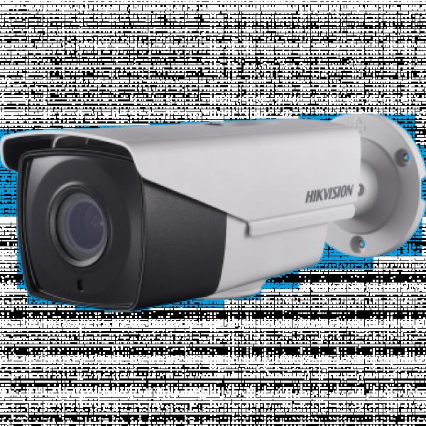 Hikvision 2MPx HD-TVI камера за видеонаблюдение със захранване по коаксиалeн кабел, EXIR осветление