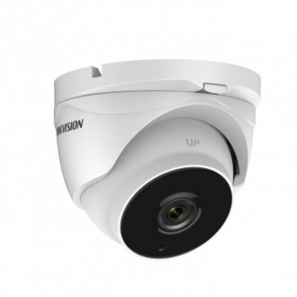 2MPx куполна HD-TVI камера за видеонаблюдение със захранване по коаксиалeн кабел