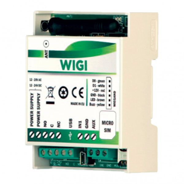 GSM модул за контрол на достъп с вход за RFID четец